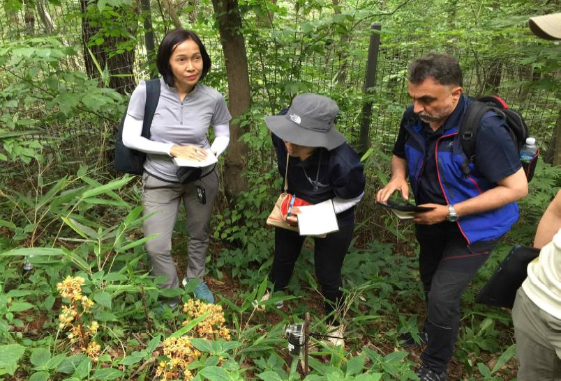 Wildlife monitoring in Muduengsan National Park © KNPS